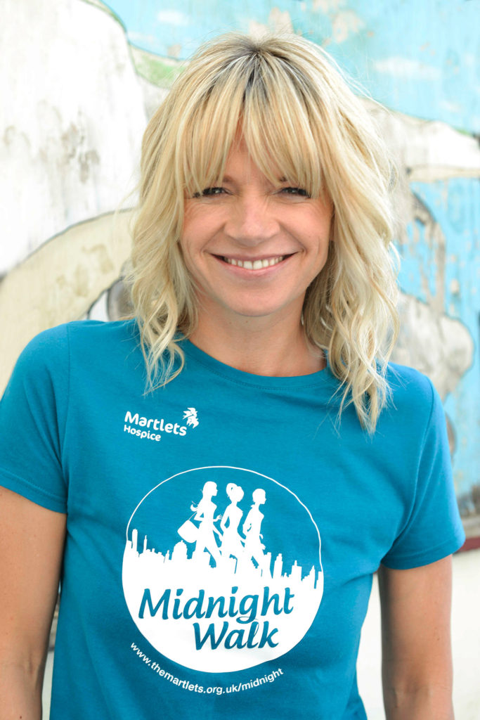 Zoe Ball, portrait by Mi Elfverson, Brighton photographer
