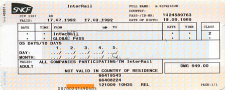 InterRail-pass-flexi